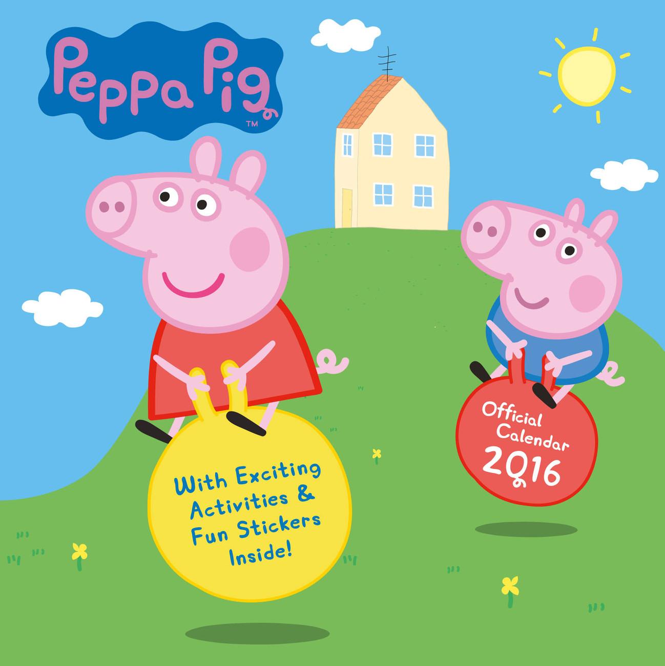 Calendar 2020 Peppa Pig