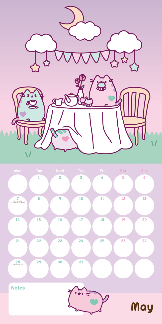 Pusheen - Calendars 2021 on UKposters/EuroPosters