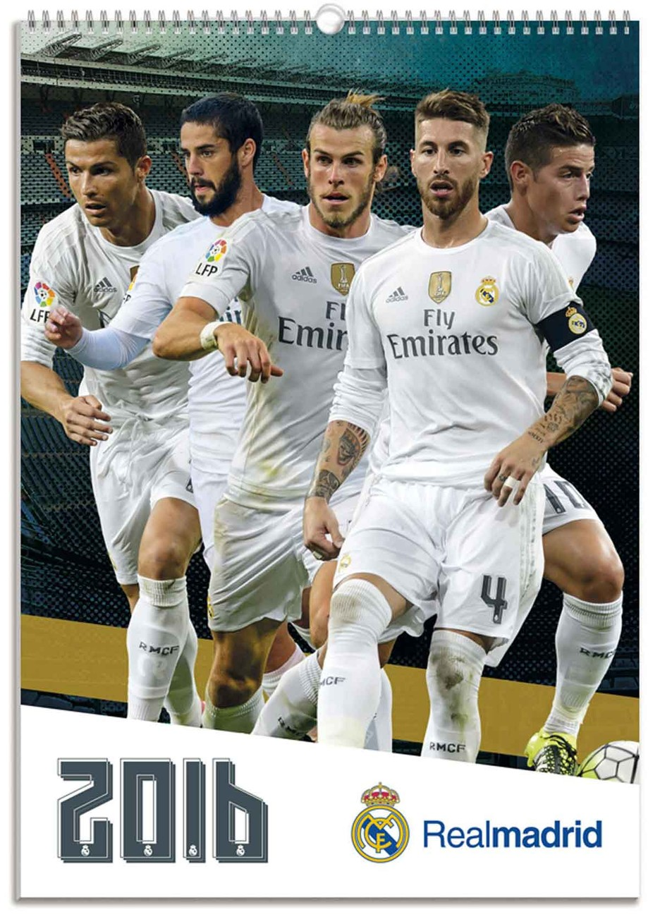 Real Madrid CF - Calendars 2019 on UKposters EuroPosters a4ba855857