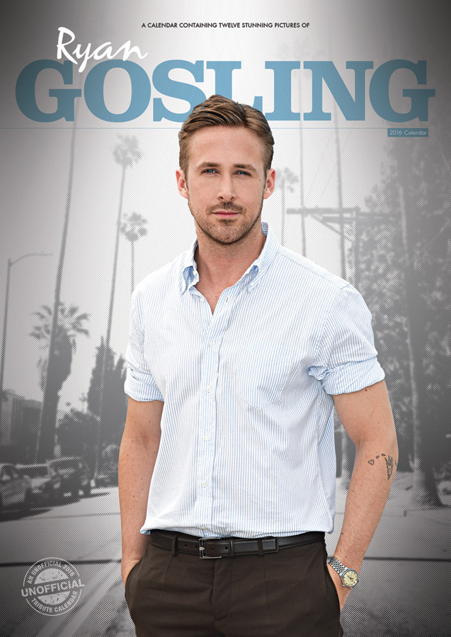 Ryan Gosling - Calendars 2019 on UKposters/EuroPosters