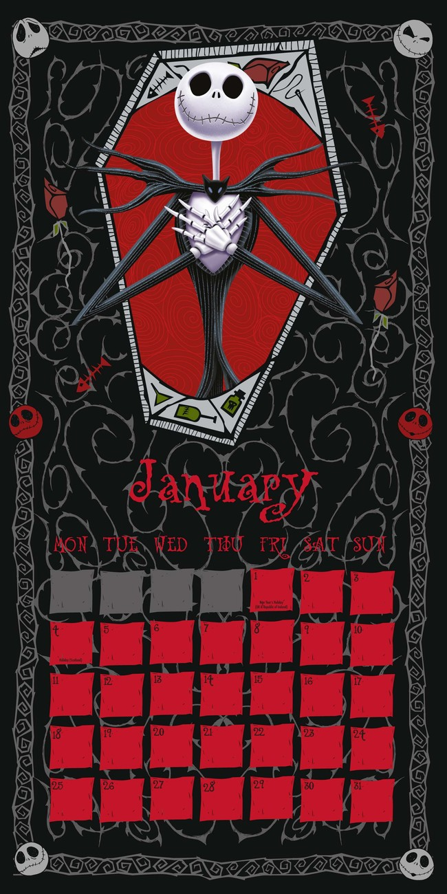 The Nightmare Before Christmas - Calendars 2019 on UKposters/EuroPosters