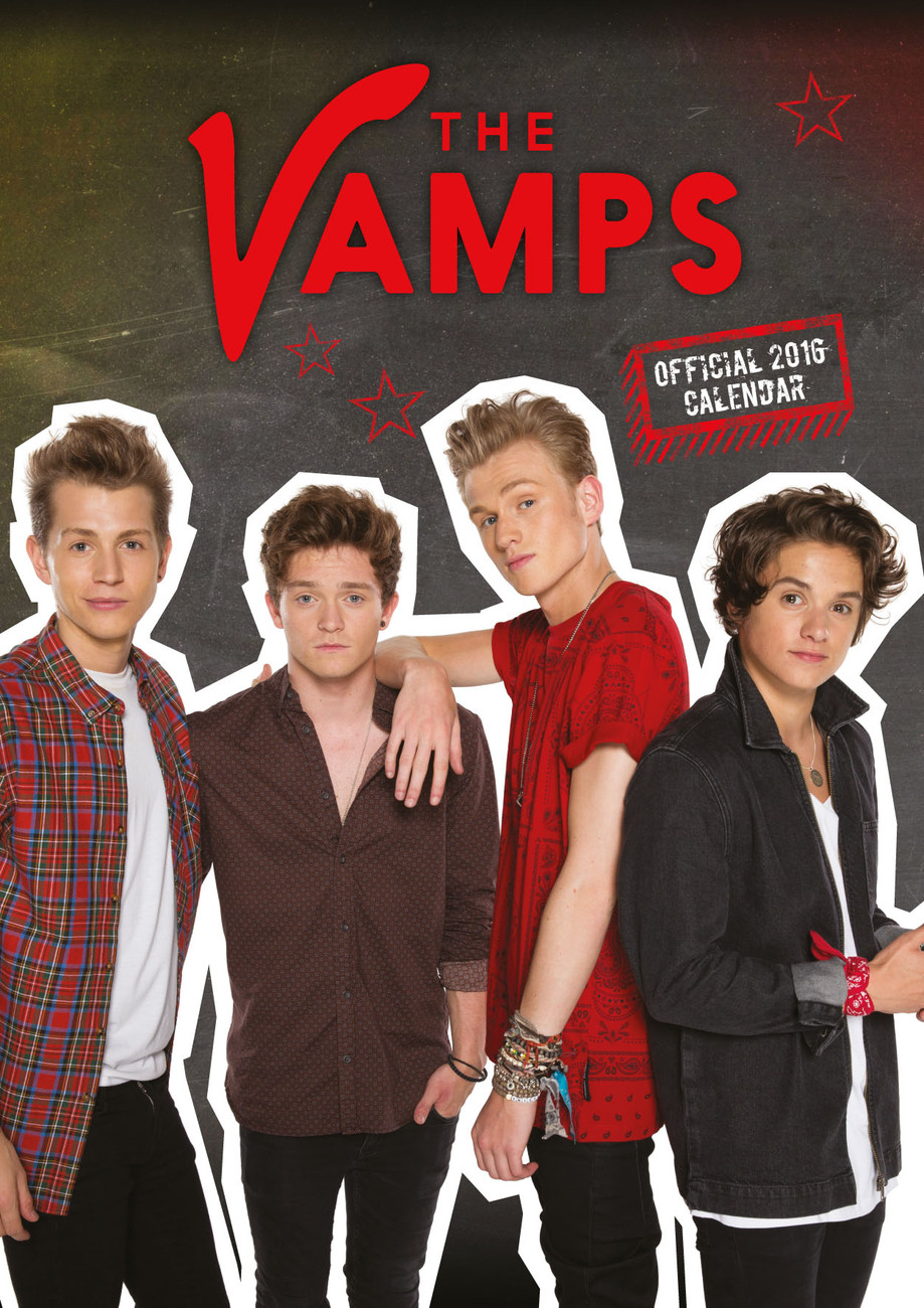 The Vamps Tour 2020 The Vamps   Calendars 2020 on UKposters/Abposters.com