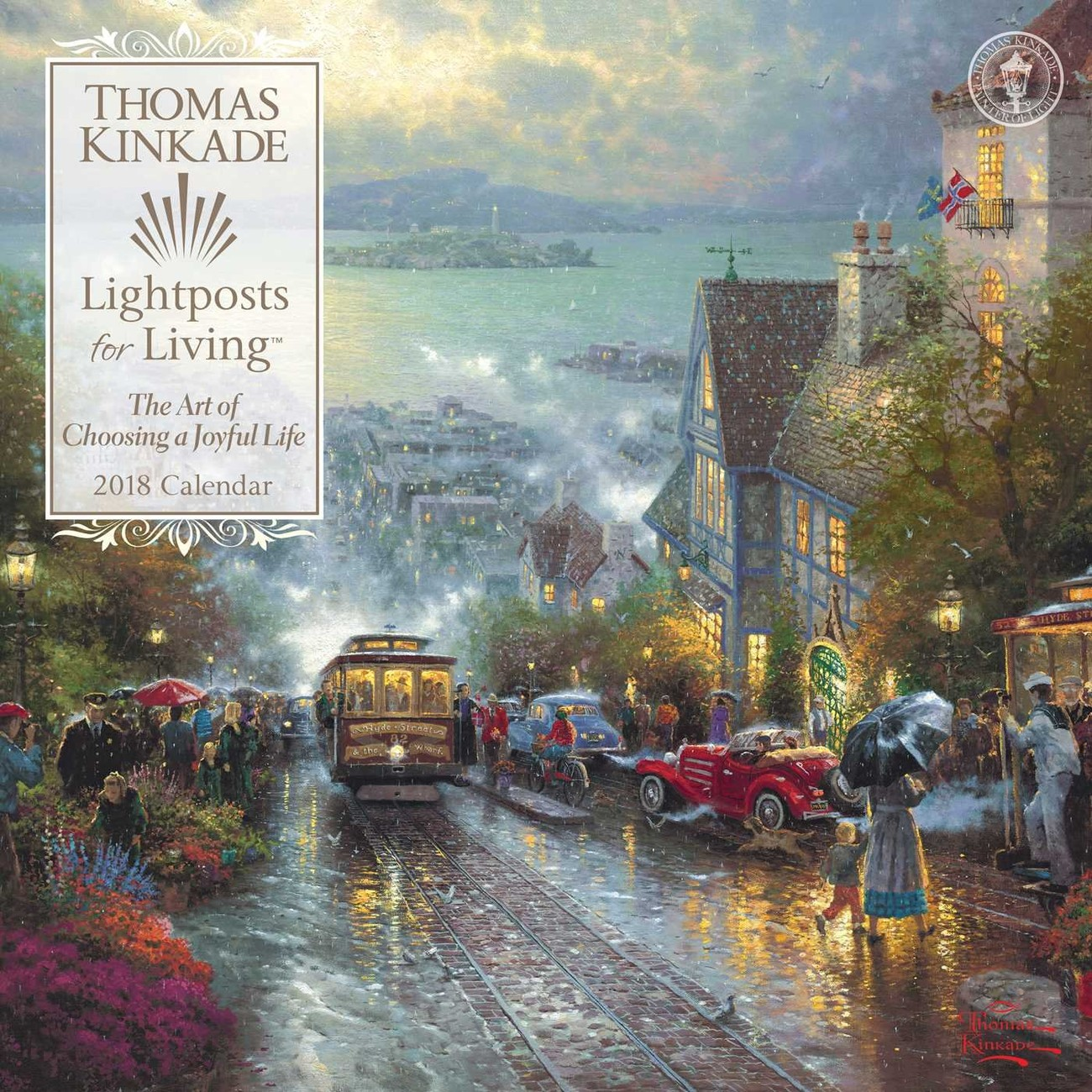 thomas kinkade naptár 2019 Thomas Kinkade   Lightposts for Living   Calendars 2019 on  thomas kinkade naptár 2019