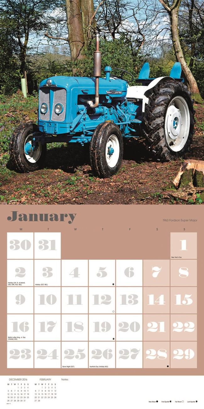 Tractors - Calendars 2019 On Ukpostersukposters-9091