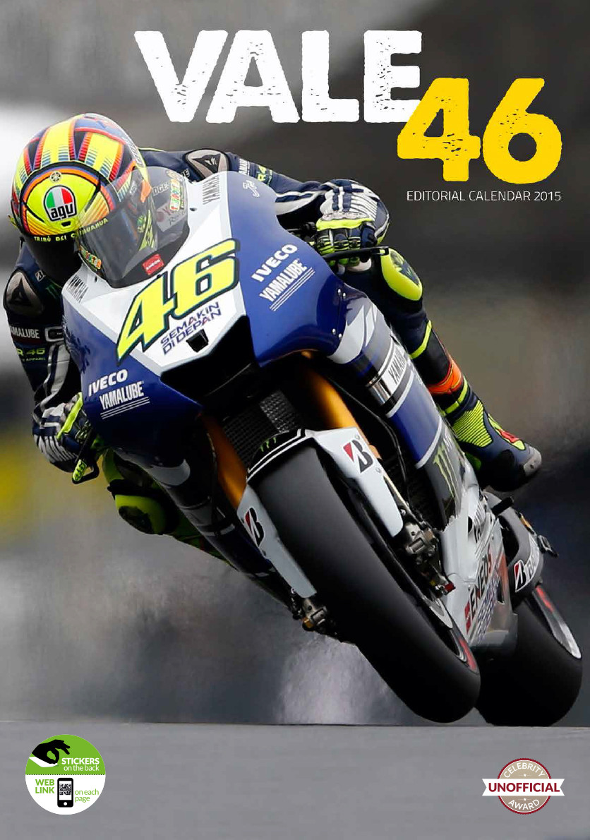 Valentino Rossi - Calendars 2018 on EuroPosters
