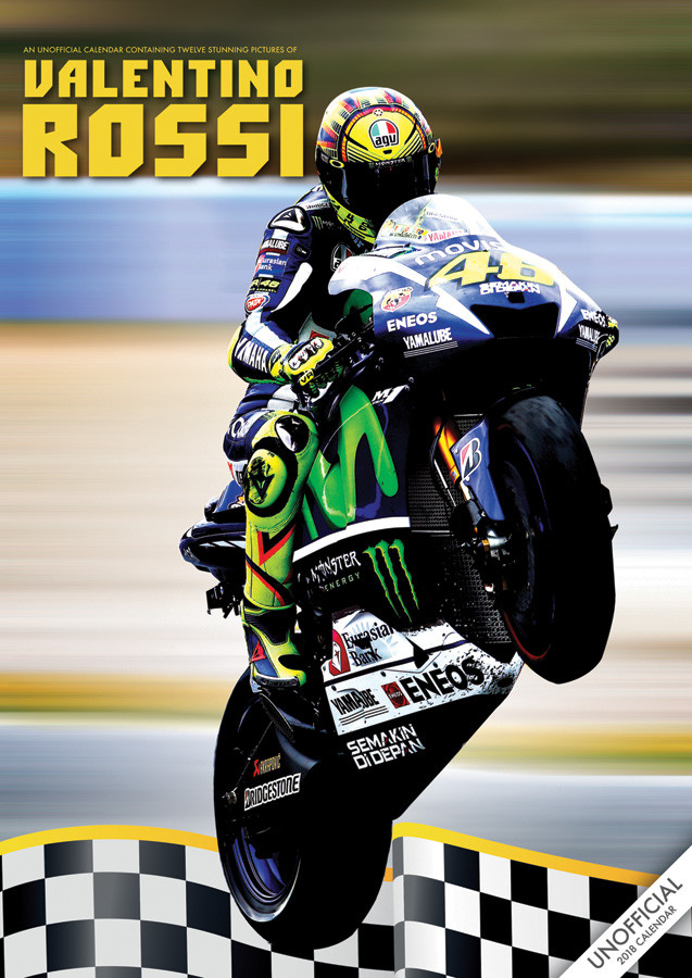 Valentino Rossi - Calendars 2019 on UKposters/Abposters.com