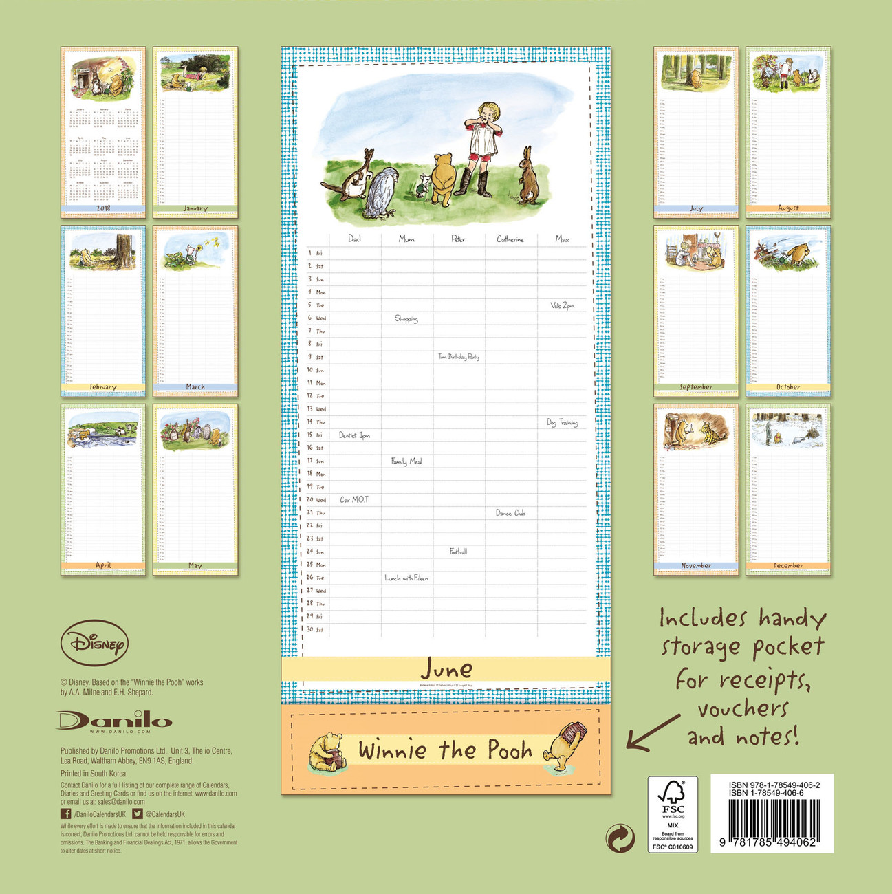 Winnie The Pooh - Calendars 2021 on UKposters/Abposters.com