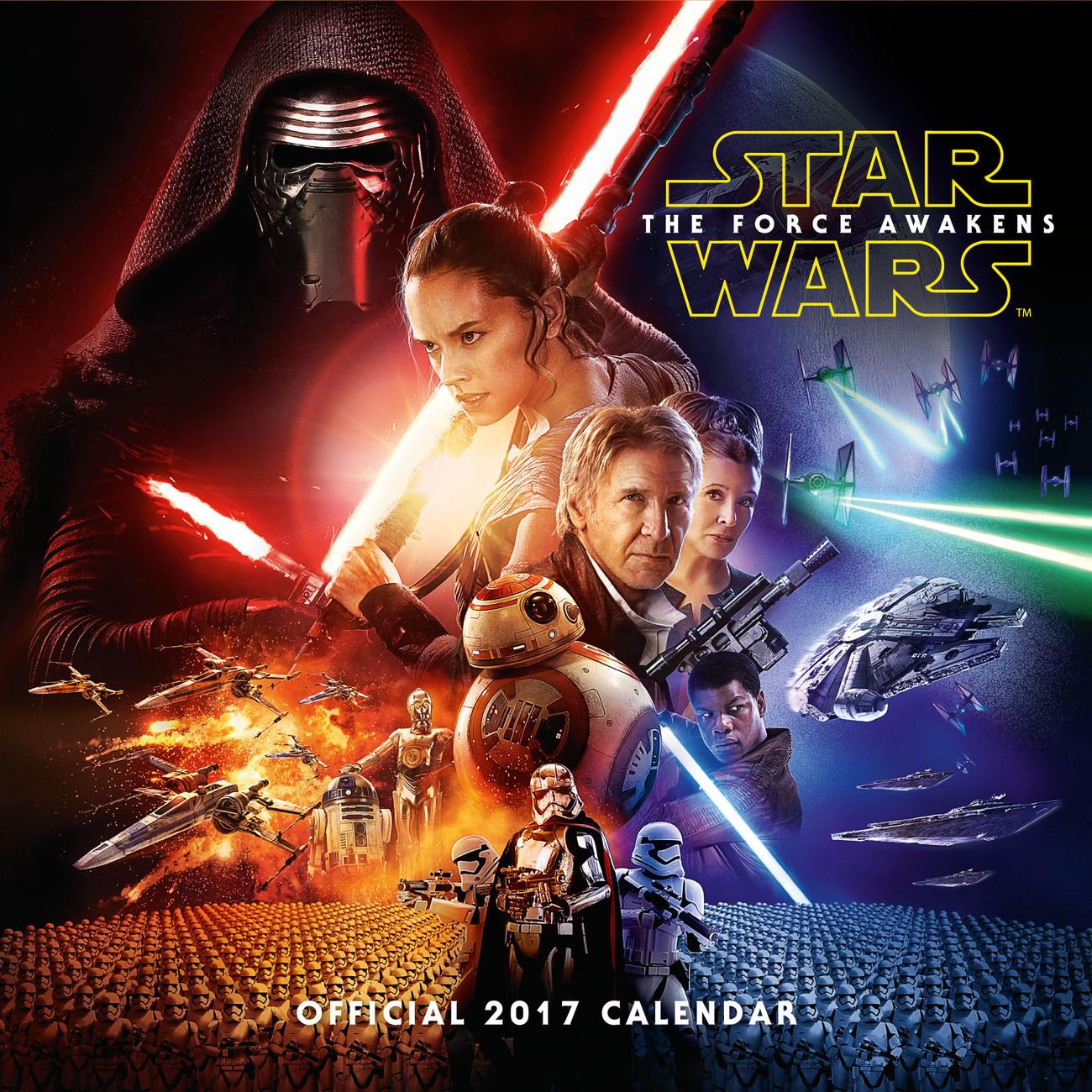 Star Wars: Episode 7 Calendrier 2017   Acheter-le sur ...
