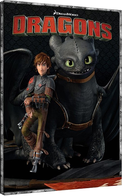 canvas print how to train your dragon 2 portrait sold