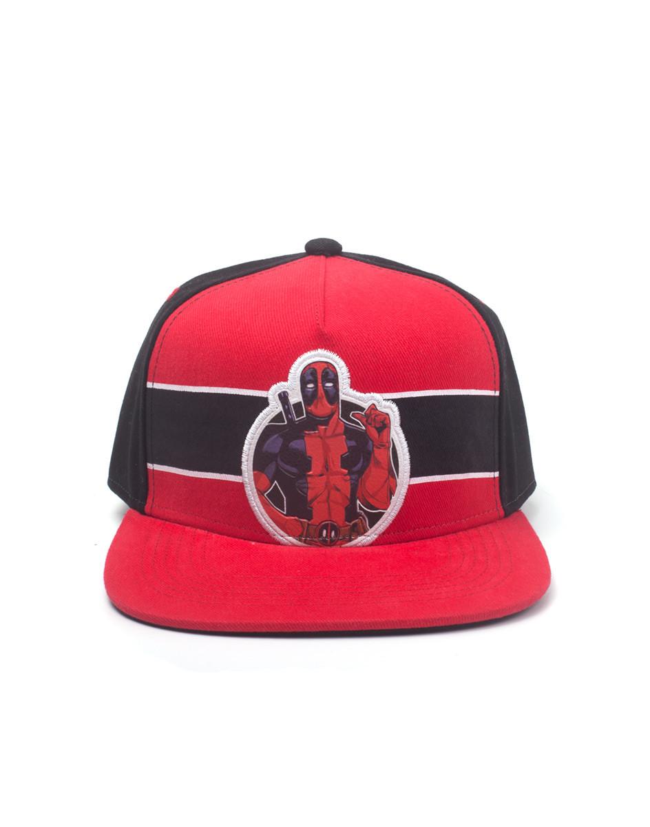Deadpool - Stripe Comic Badge - Cap on EuroPosters 203d0a60760