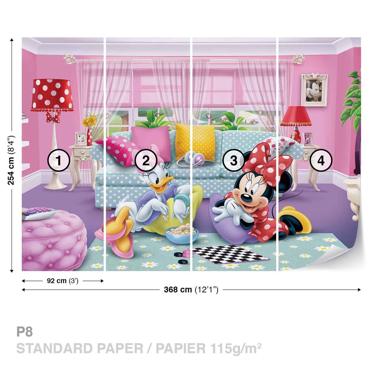 81a402508 Murais de parede Disney Minnie Mouse em Europosters.pt