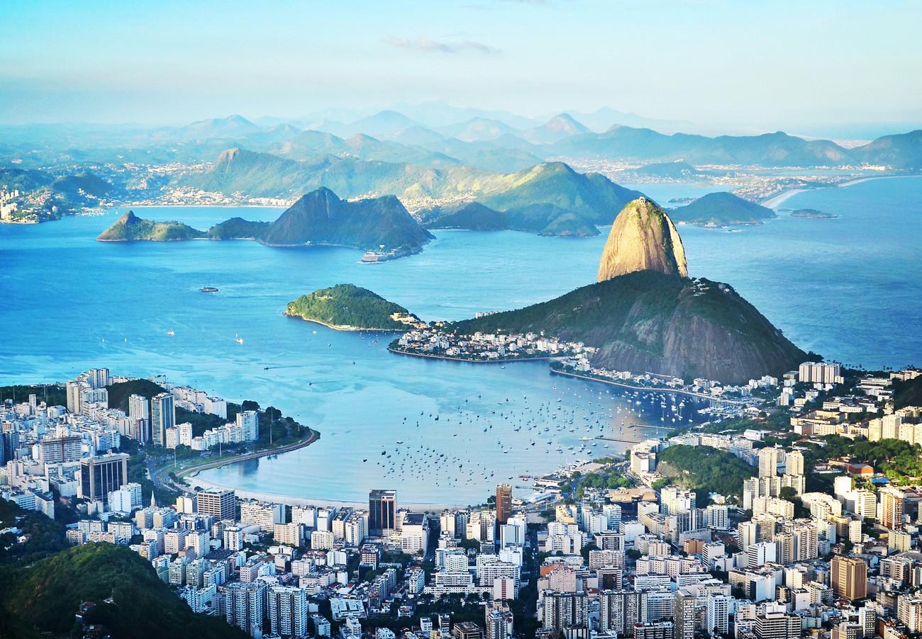 Decoração de parede RIO DE JANEIRO em Europosters.pt #1B87B0 1300 902