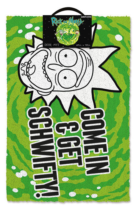 Rick And Morty Get Schwifty Doormats Posters Wall Art
