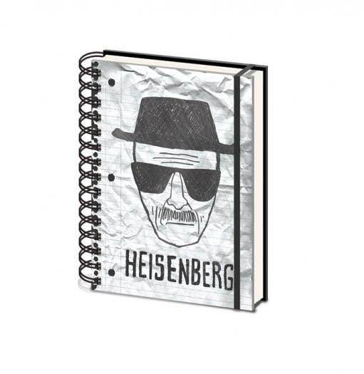 Breaking bad heisenberg a5 fournitures de bureau for Acheter fournitures de bureau