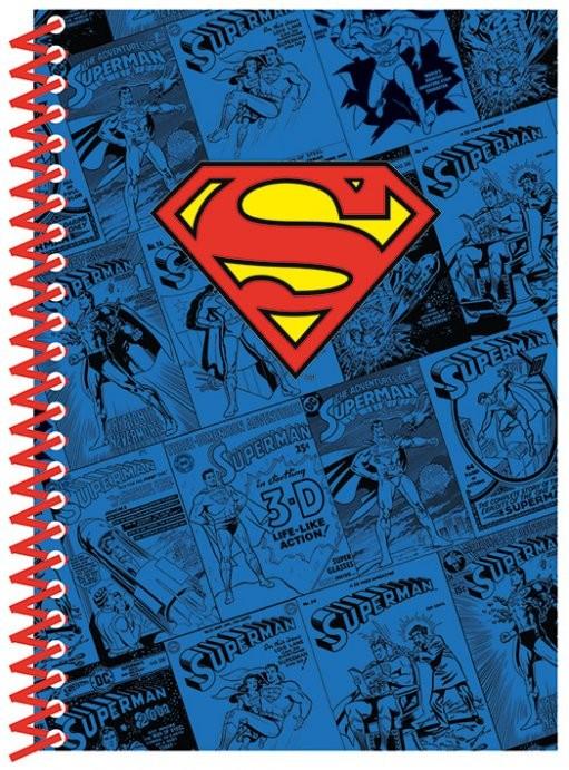 Dc comics a5 budget notebook superman logo fournitures for Acheter fournitures de bureau