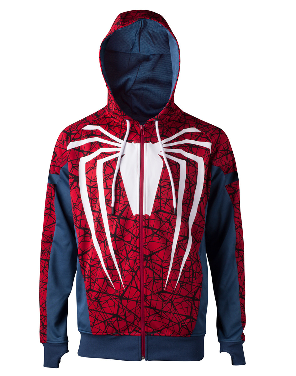 Spiderman - PS4 Game Outfit Jumper at Europosters 597e90446a1b