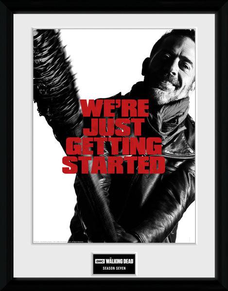 parhaat lenkkarit myynti laaja valikoima The Walking Dead - Season 7 Kehystetty juliste