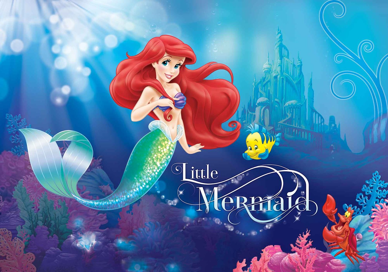 219ae8036899 Disney Princesses Ariel Valokuvatapetti