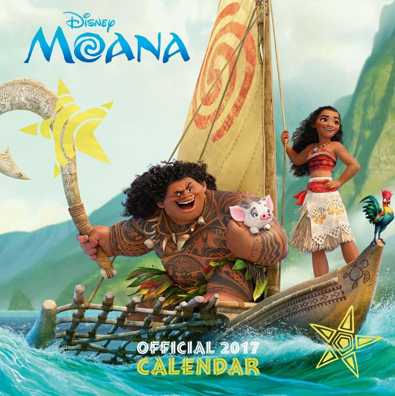 Moana Calendar 2021 Background