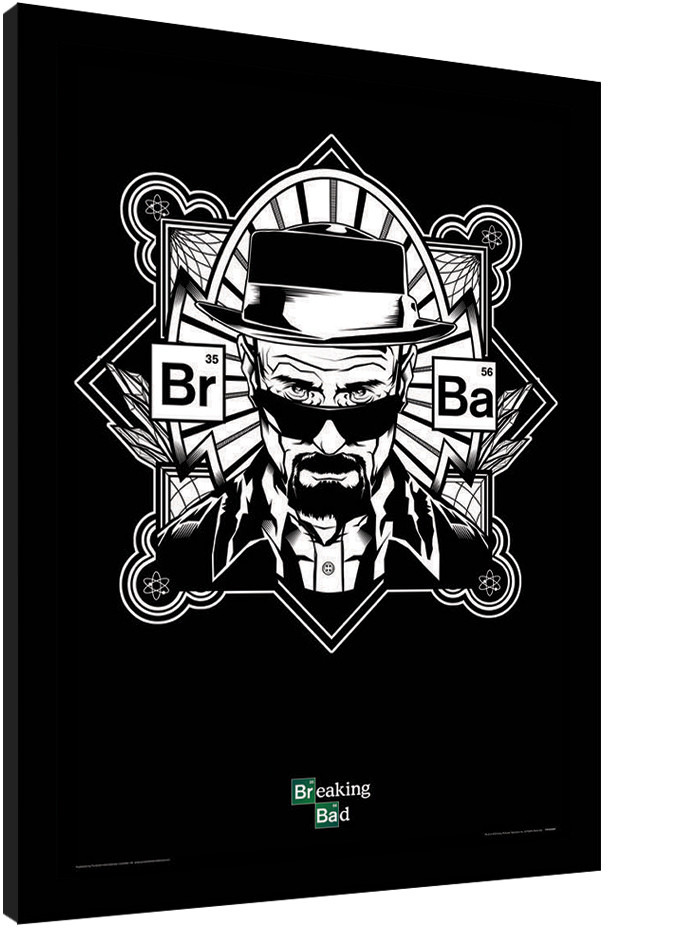 BREAKING BAD - obey heisenberg Framed poster | Buy at Europosters