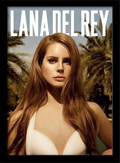 Lana Del Rey Paradise Framed Poster Buy At Europosters