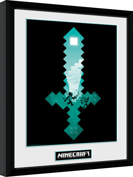 minecraft how to make a diamond sword