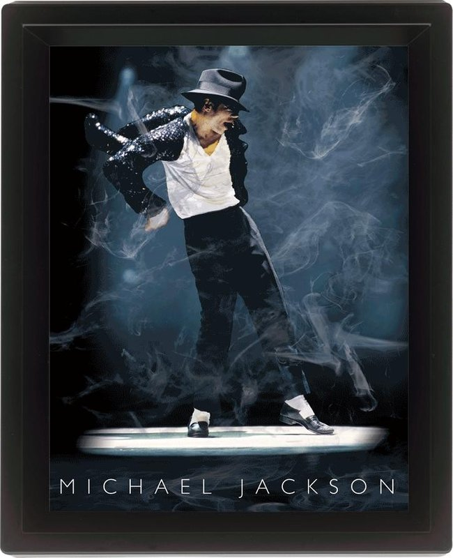 MICHAEL JACKSON Framed 3Dposter | Sale at EuroPosters