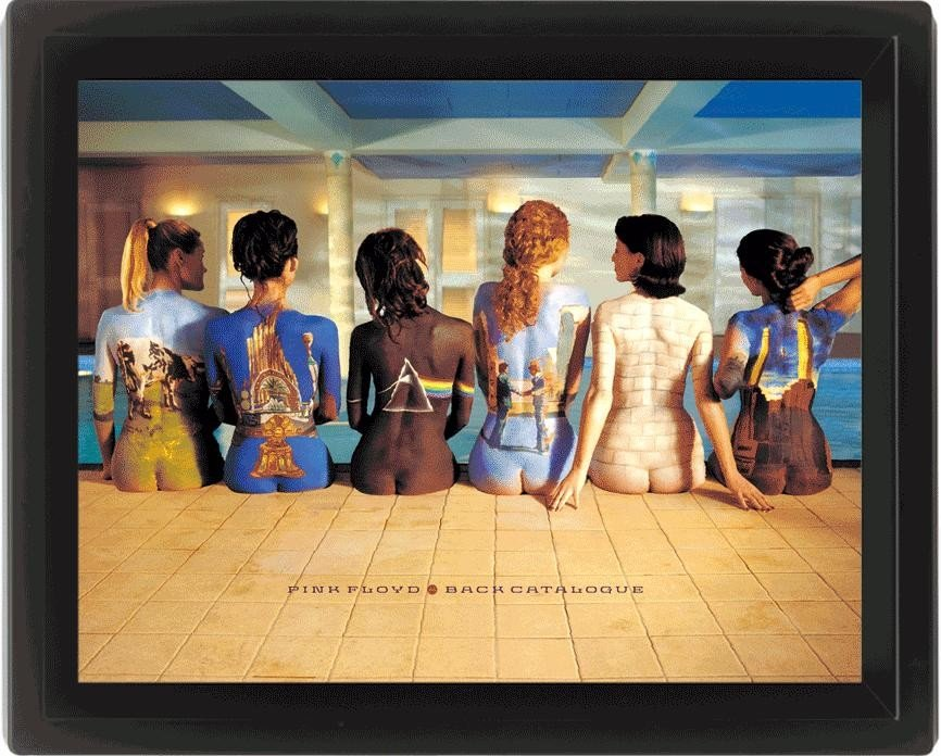 PINK FLOYD - back catalogue Framed 3Dposter | Sale at EuroPosters