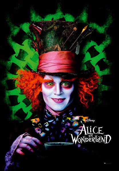 Alice In Wonderland Mad Hatter Poster Sold At Ukposters