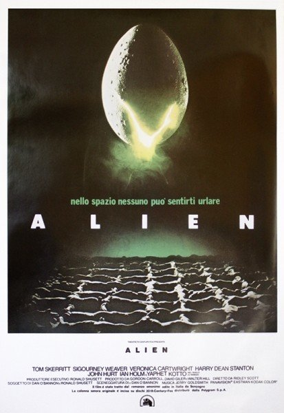 Alien Poster Sold At Ukposters