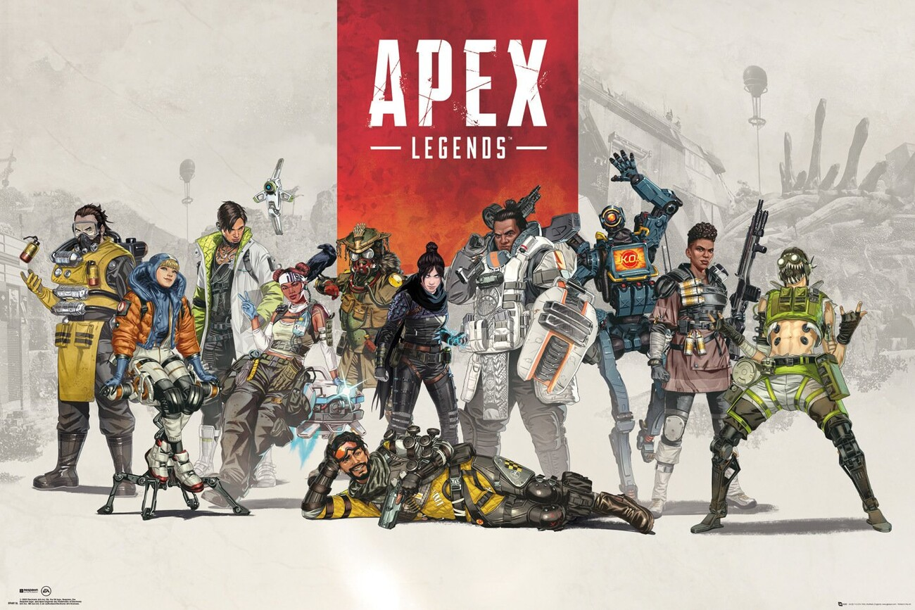Apex Legends - Group Poster | Sold at Europosters