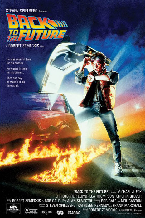 back to the future poster sold at europosters. Black Bedroom Furniture Sets. Home Design Ideas