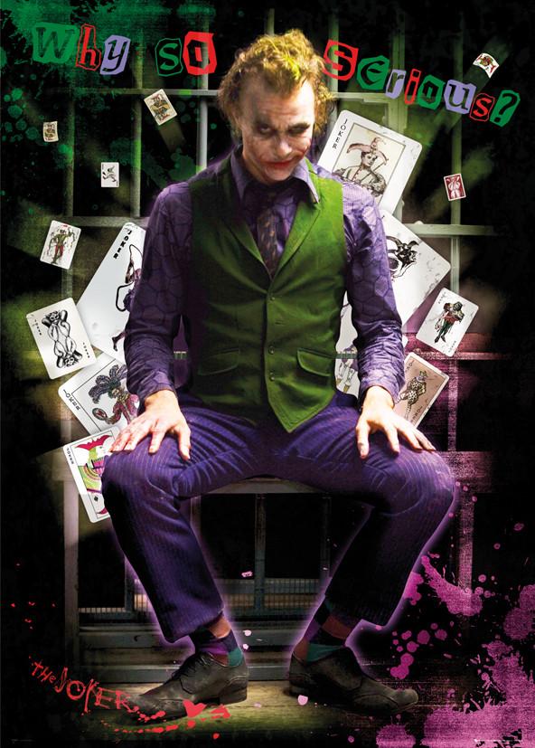 Batman The Dark Knight - Joker Jail Poster | Sold at ...