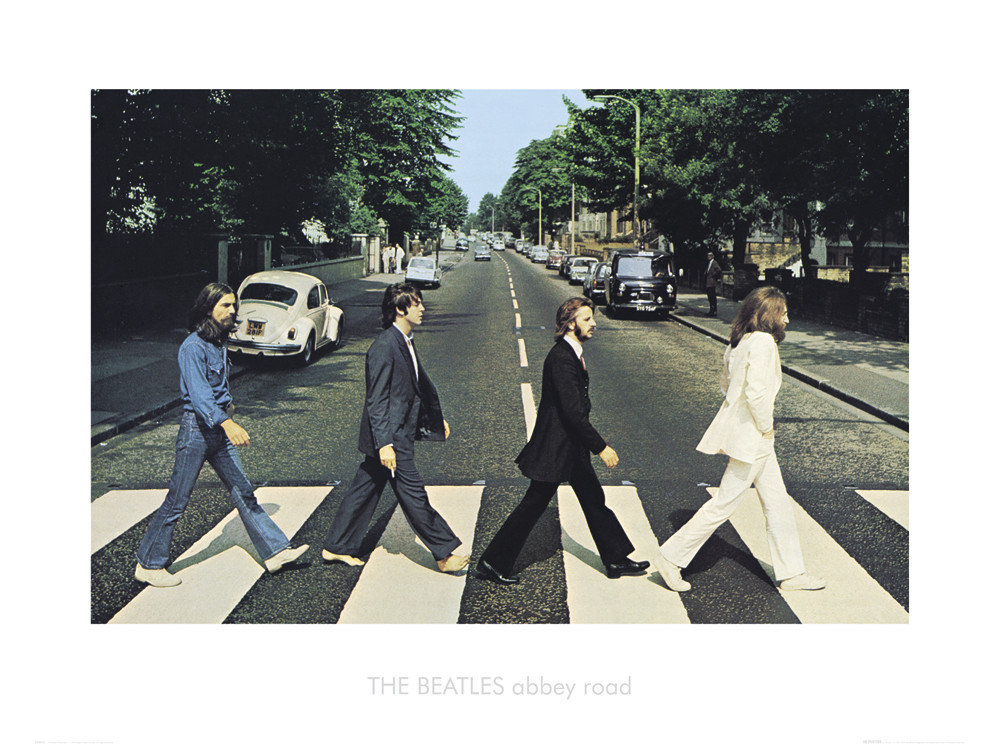 Beatles Abbey Road Art Print Buy At Ukposters