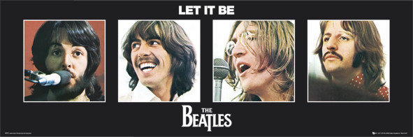 Nostalgipalatset - BEATLES - Let it be UK-orig BOX set LP 1970