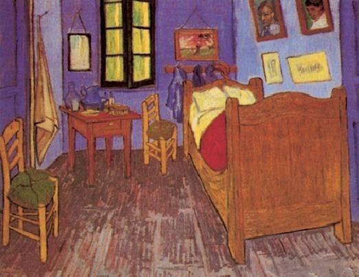Bedroom in arles 1888 art print buy at for Bedroom in arles