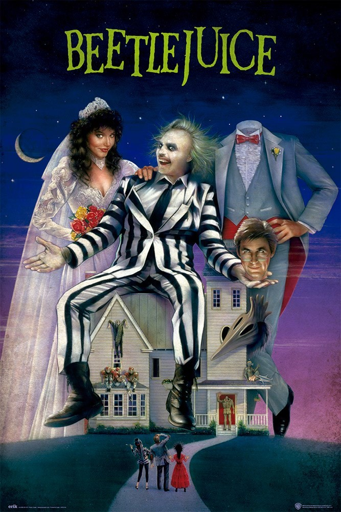 Beetlejuice Poster | Sold at UKposters