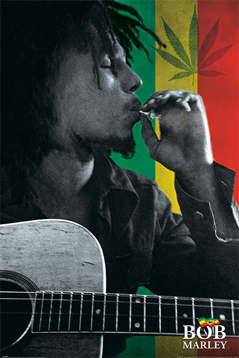 Bob Marley Smoke Poster Sold At Abposters Classy Bob Marley Smoking Wild