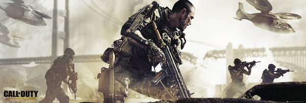Call of Duty Advanced Warfare - Cover Poster, Art Print