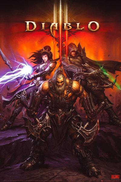 Diablo III Video Games Poster | CGCPosters  |Diablo Iii Poster