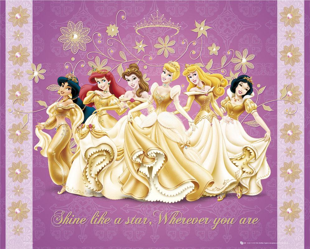 DISNEY PRINCESS - shine Poster | Sold at Europosters