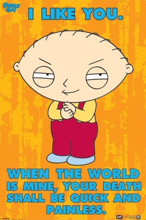 Family guy stewie the world poster sold at abposters 3 thecheapjerseys Image collections