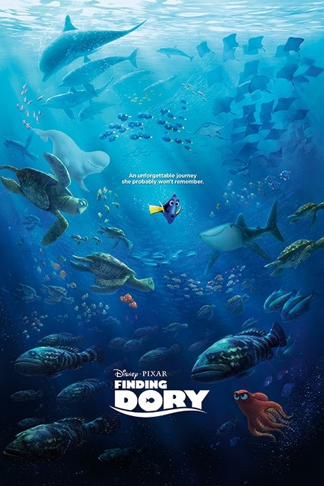 Finding Dory Unforgettable Journey Poster Sold At