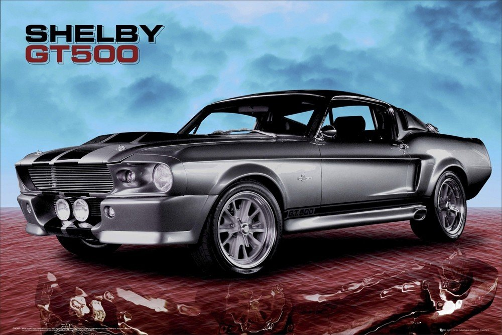 Ford Shelby Gt  Sky Poster