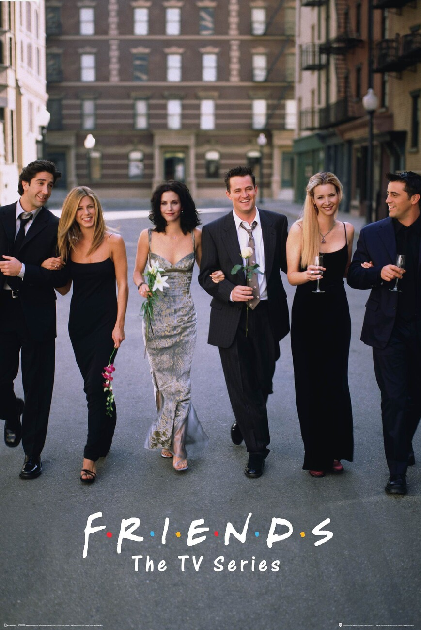 Friends - TV Series Poster | All posters in one place | 3+1 FREE