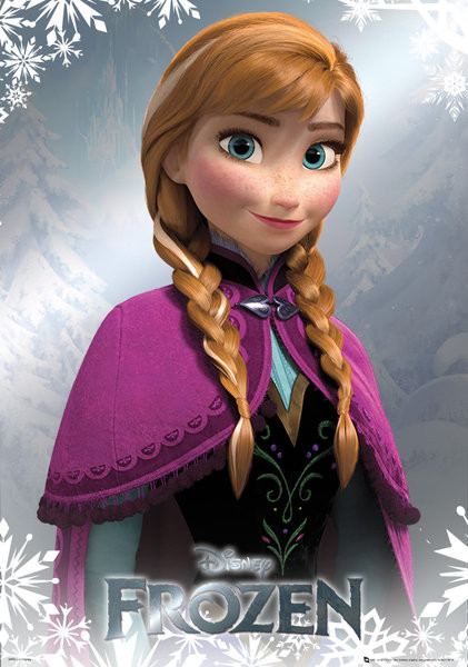Frozen Anna Poster Sold At Abposters Com