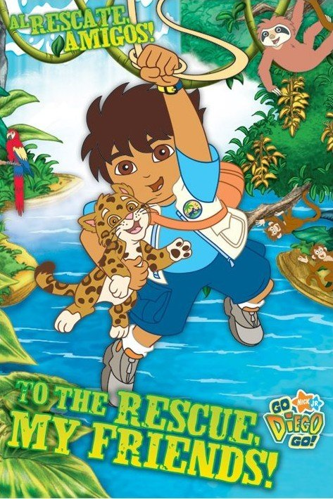 Go diego go my friends poster sold at - Jeux de go diego ...