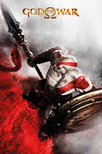 God of war key art 3 poster sold at europosters - Porta poster amazon ...