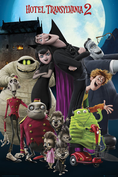 hotel transylvania 2 cast poster sold at abposters com