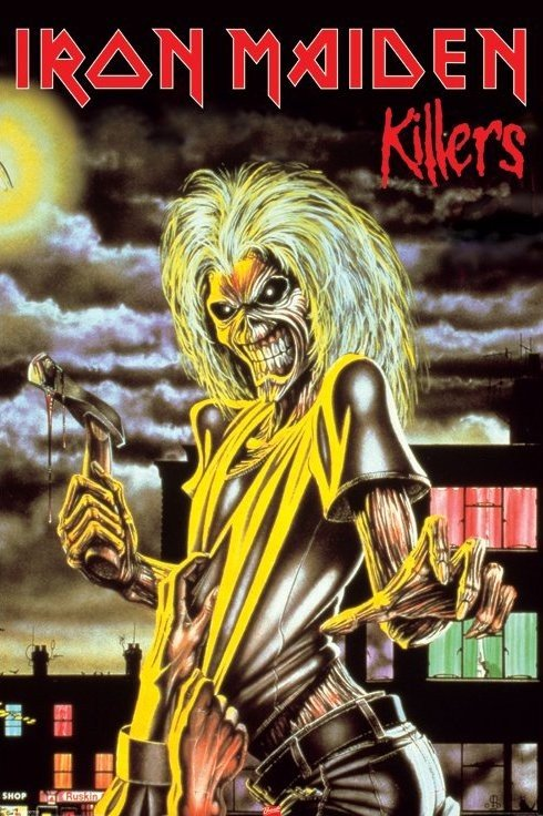 Iron Maiden Killers Poster Sold At Europosters
